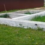 фото ленточного фундамента