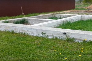 ленточный фундамент под дом фото
