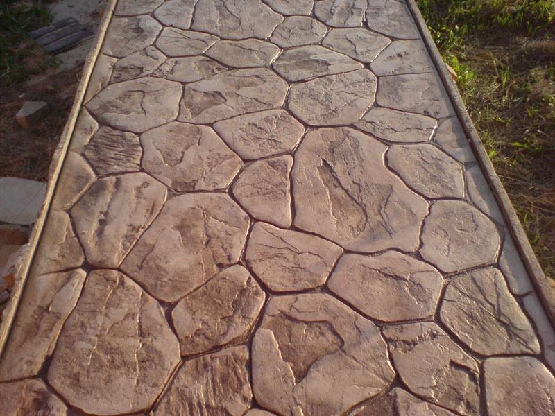 Декоративный бетон своими руками фото