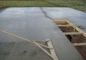 разравнивание бетона фото