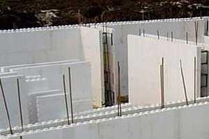 Фото стройки: монолитные стены